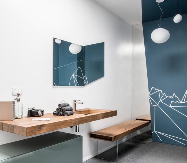 IDEeA Interior Torino - Lounge Ruta 40 Sala da bagno