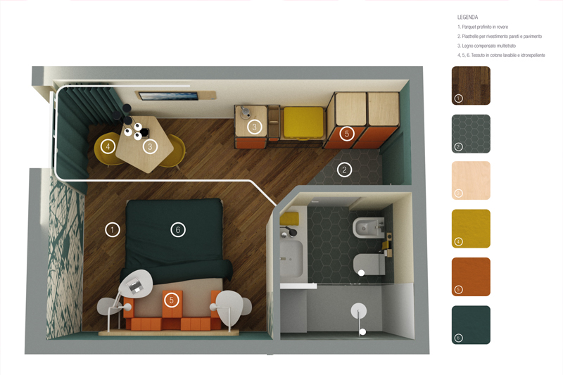 Ideea interior design e architettura consigli e cose di for Camere albergo design