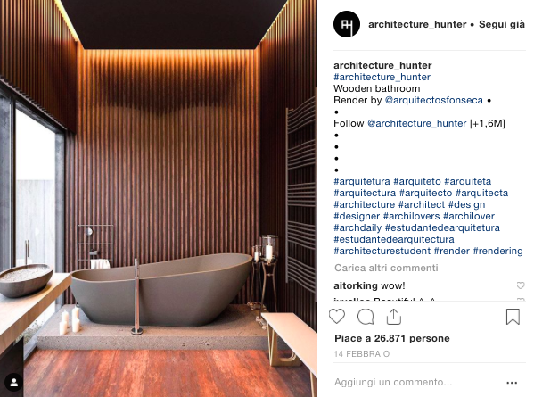 Amanda Ferber influencer Architettura 3