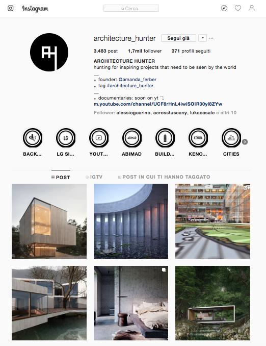 Amanda Ferber influencer Architettura